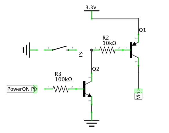 Transistor Switch Circuit Diagram likewise US7298171 as well Latch Up additionally Inverter  logic gate additionally Coffee Button. on transistor latch circuit